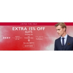 Moss Bros: extra 15% off suits, including sale