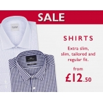 Moss Bros: shirts from £12.50