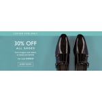 Moss Bros: 30% off men's shoes