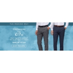 Moss Bros: trousers from £17.50