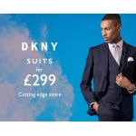 Moss Bros: DKNY suits £299