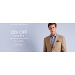 Moss Bros: 25% off jackets