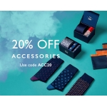 Moss Bros: 20% off accessories