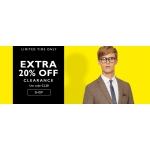 Moss Bros: extra 20% off menswear