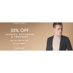 Moss Bros: 30% off jackets, knitwear & trousers