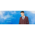 Moss Bros: 15% off formal menswear