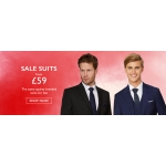 Moss Bros: suits from £59