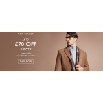 Moss Bros: up to £70 off new season coats
