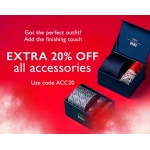 Moss Bros: extra 20% off all accessories