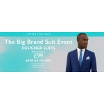 Moss Bros: Big Brand Suits from £99