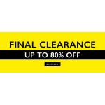 Moss Bros: Final Sale up to 80% off suits and formal menswear