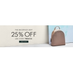 Mybag: 25% off backpacks