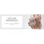Mybag: 25% off backpacks