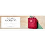 Mybag: 20% off backpacks