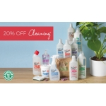 Natural Collection: 20% off cleaning & household
