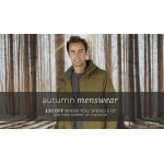 Natural Collection: £10 off when you spend £70 on autumn menswear