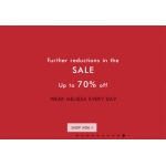 NONNON: Sale up to 70% off Mellisa shoes