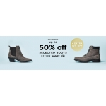 Office Shoes: Sale up to 50% + extra 10% off selected boots
