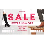Office Shoes: extra 20% off on sale up to 50%