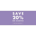 Pavers: 20% off scarves