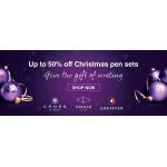 Pen Shop: up to 50% off Christmas pen sets