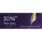 Pen Shop: up to 50% off pen sets
