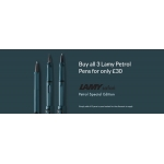 Pen Shop: buy all 3 Lamy Petrol Pens for only £30