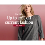 Peter Hahn: Pre-Sale up to 20% off current fashion
