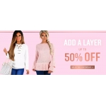Pink Boutique: up to 50% off women's knitwear