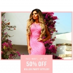 Pink Boutique: 50% off killer party styles