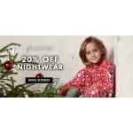 Polarn O Pyret: 20% off kids nightwear