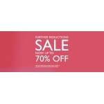Precis: Sale up to 70% off women's clothes and evening wear