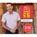 Premier Man: buy two shirts and save £5
