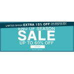 Premier Man: extra 15% off clothing, shoes & accessories