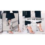 Public Desire: 20% off high heels