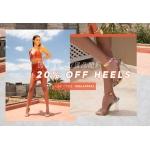 Public Desire: 20% off heels
