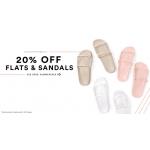 Public Desire: 20% off flats and sandals