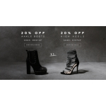 Public Desire: 20% off ankle boots and high heels