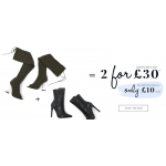 Public Desire: 2 selected boots for £30
