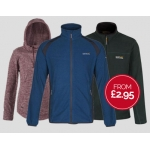 Regatta Outlet: fleeces from £2,95