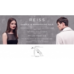 Reiss: sample and warehouse sale