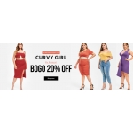 RoseGal: 20% off plus size clothing