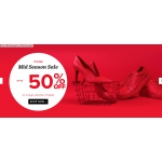 Sarenza: Sale up to 50% off on a large selection of shoe styles