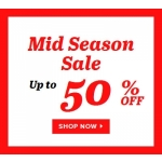 Sarenza: Mid Season Sale up to 50% off