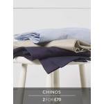 Savile Row: two chinos for £70