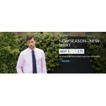Savile Row: any three new shirts for £75