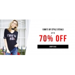 Select Fashion: Sale up to 70% off clothing, shoes and accessories