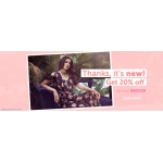 Select Fashion: 20% off women's clothing