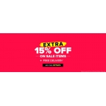 Select Fashion: extra 15% off on sale items