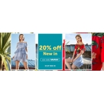 Select Fashion: 20% off women's fashion